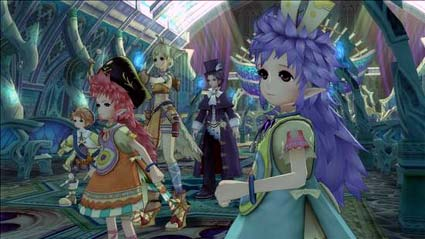 screenshots: eternal sonata