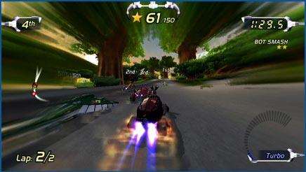 screenshots: excitebots