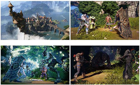 screenshots: fable legends