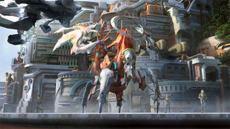 screenshots: final fantasy XIII