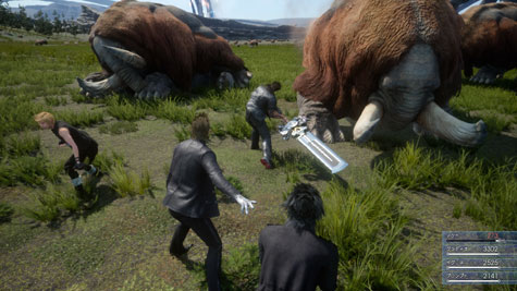 screens: final fantasy XV
