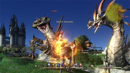 screens: final fantasy XIV