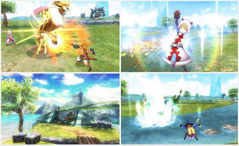 screens: final fantasy explorers
