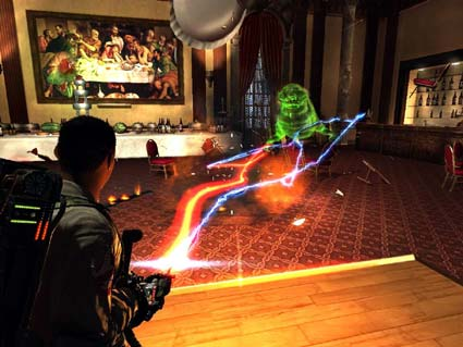 screenshots: ghostbusters