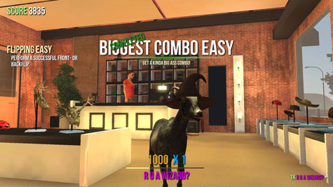 screens: goat simulator 1.1