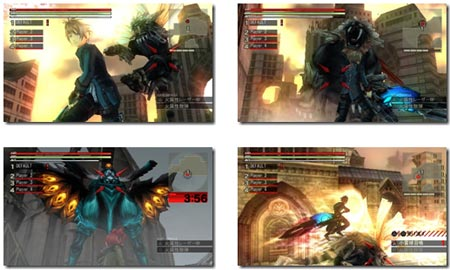 screenshots: god eater