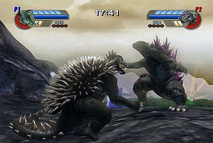screenshots: godzilla unleashed