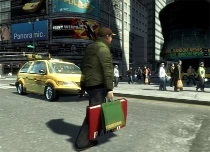 screenshots: gta IV