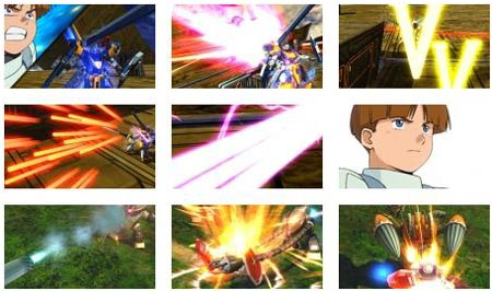 screenshots (III): gundam extreme vs. full boost