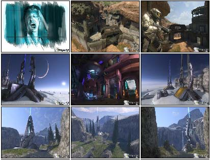 screenshots: halo 3