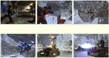 screenshots: halo 3 legendary map-pack