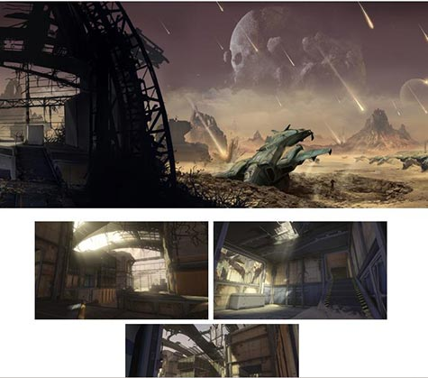 screenshots: halo 4