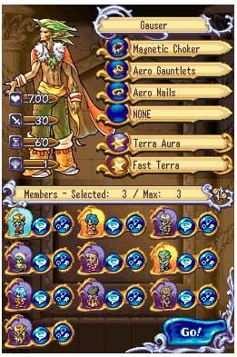 screenshots: heroes of mana II