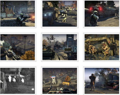 screens: homefront