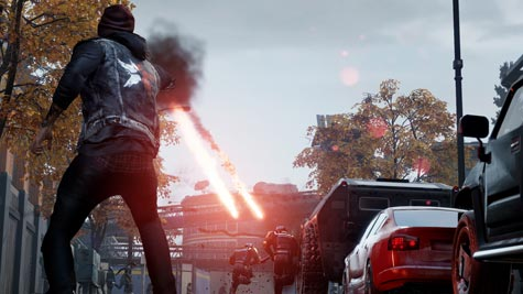 screens: infamous second son