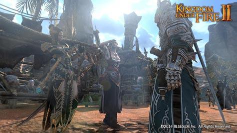 screenshots: kingdom under fire II
