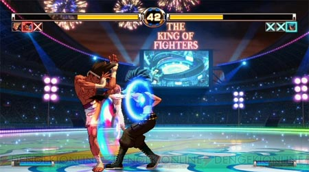 screenshots: king of fighters XII