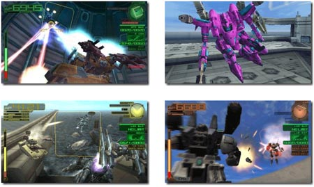 screens: armored core last raven portable