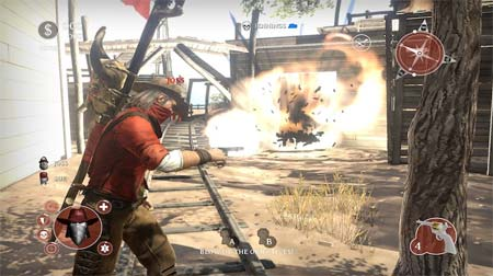 screenshots: lead and gold: gangs of the wild west