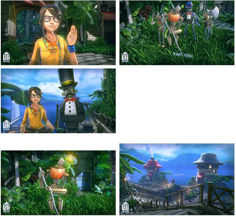 screenshots: lili: child of geos