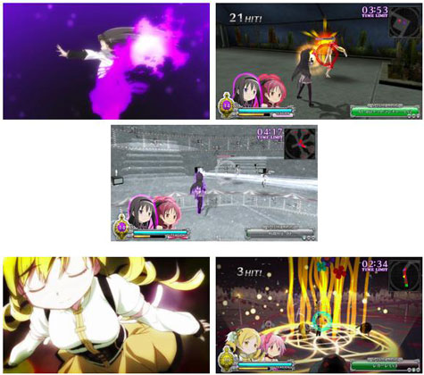 screens: madoka magica: the battle pentagram