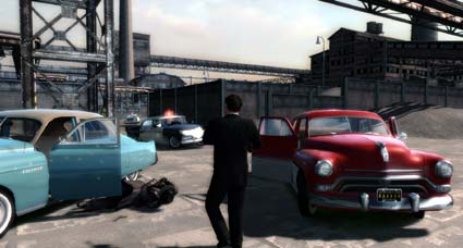 screenshots: mafia II