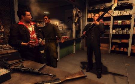 screenshots: mafia II