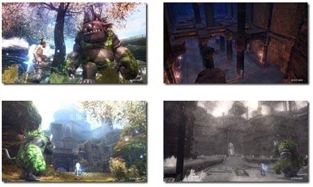 screenshots: majin and the forsaken kingdom