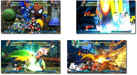 screenshots (II): marvel vs. capcom 3