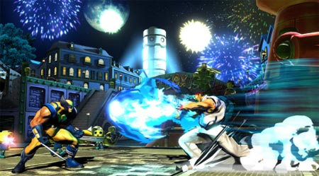 screens: marvel vs capcom 3