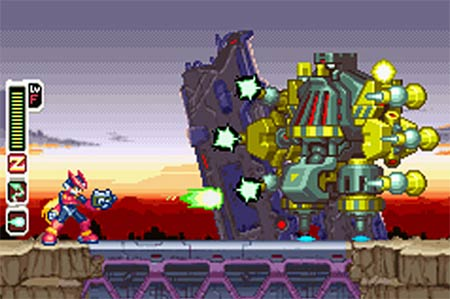 screenshots: megaman zero collection