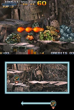 screenshots: metal slug 7