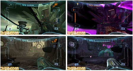 screenshots: metroid prime 2 echoes