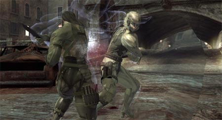 screenshots: metal gear online – scene