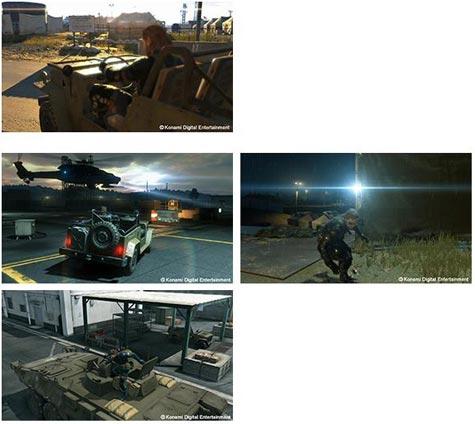 screenshots (II): metal gear solid V: ground zeroes