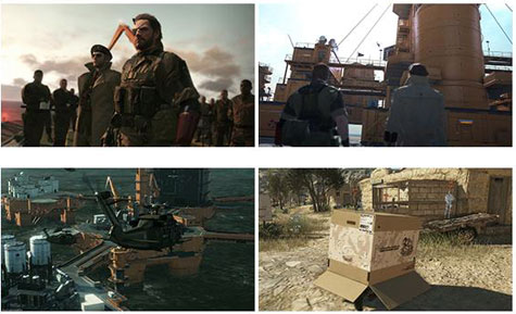 screens: metal gear solid V: phantom pain