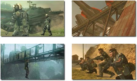 screens: mgs peace walker