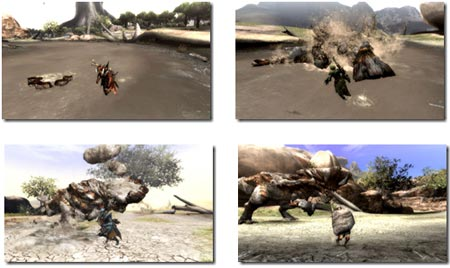 screens: monster hunter 3