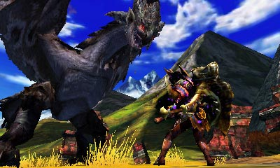screenshots (IV): monster hunter 4