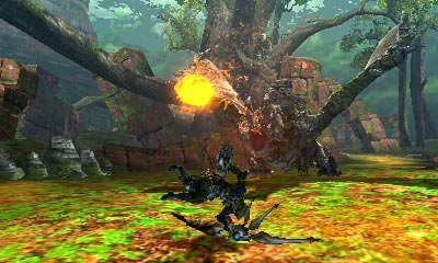 screens: monster hunter 4