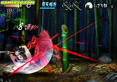 screenshots: muramasa – demon blade