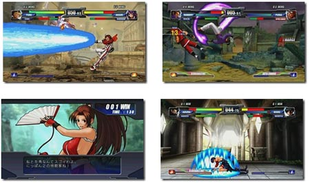screens: neo geo battle colliseum