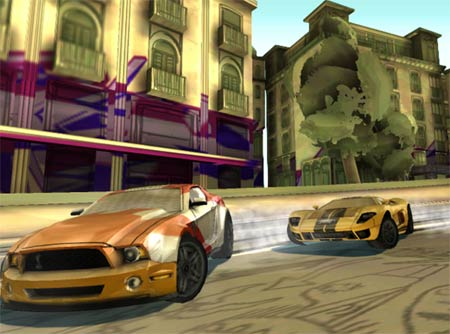 screenshots: need for speed nitro