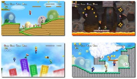 screens: new super mario bros wii