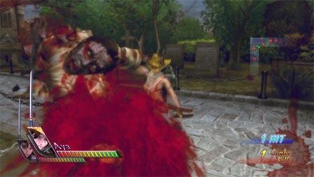 screenshots: onee bikini zombie slayers