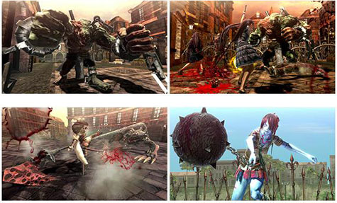 screens: oneechanbara z2
