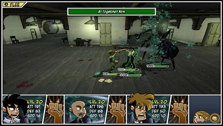 screenshots: penny arcade adventures 2