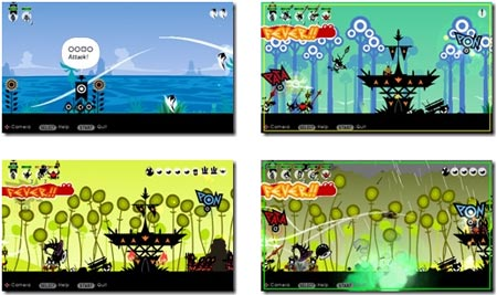 screens: patapon 2