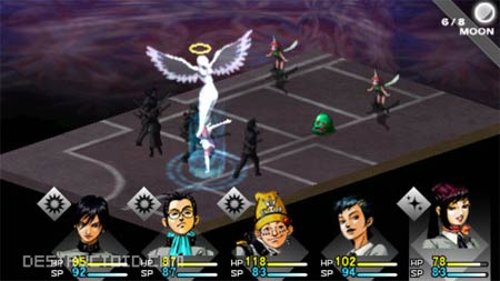 screens: persona psp