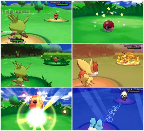 screens: pokemon x und pokemon y